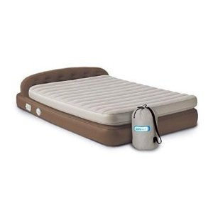 Aerobed Hi-Rise Premium Queen Headboard Air Bed