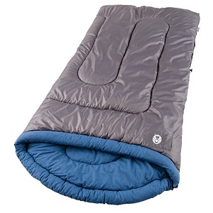Coleman White Water Big and Tall Cold Weather Sleeping Bag for big guys.