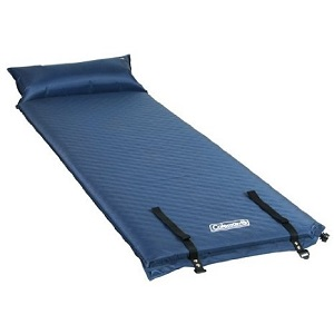 Coleman Self-inflating air pad with pillow