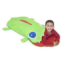 Melissa & Doug Sunny Patch Augie Alligator Sleeping Bag